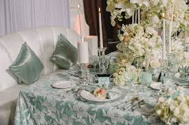 unique wedding table linens strictly weddings