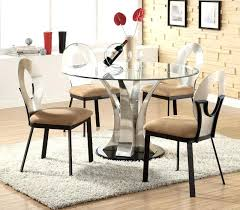 glass top dining table set 4 chairs round glass dining set first glass dining room sets are very elegant