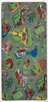 Childrens Play Rug Childrens Farm Play Mat Green Tractor Mat Animals County Kids Play