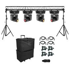 Truss Lighting Chauvet Dj Intimadator Spot 155 Led Moving Heads And Truss System