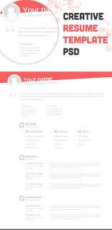 creative cv design pinterest pins gallery of cool resume templates free