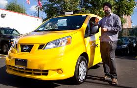 nissan nv200 taxi first nissan taxi sold in new york city is picking up fares