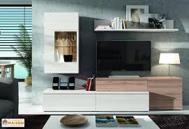 meuble tv caché ensemble meuble tele meuble tele blanc bois maisonjoffrois