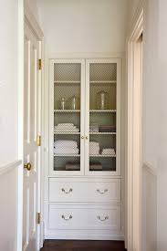 Bathroom Linen Cabinet Built In Linen Cabinet Design Ideas