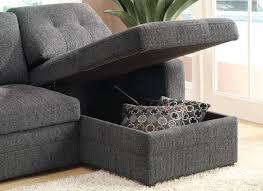 Sleeper Sofa Black Gus Black Fabric Sectional Sleeper Sofa A Sofa Furniture