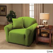 green chair slipcover stretch jersey chair slipcover free shipping on orders 45
