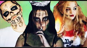 Enchantress Halloween Costume Squad Halloween Makeup Tutorial Harley Quinn Enchantress