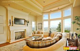 Circular Sofas Living Room Furniture Semi Circular Sofa For Living Room Gharexpert