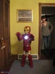 Iron Man Halloween Costume Toddler Coolest Homemade Iron Man Toddler Halloween Costume Toddler