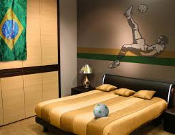 soccer room decor and wall ideas for inspirations bedroom trends