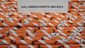 Halloween Themed Cake Pops by Halloween Ghosts And Bats Paper Straws Halloween Straws Paper