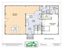 one story home floor plans design basics open floor plans alovejourney me