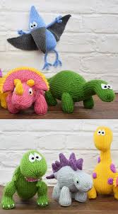 dinosaur knitting patterns in the loop knitting