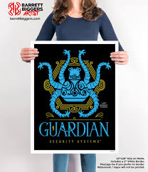 legend of zelda breath of the wild inspired guardian security
