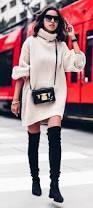 the 25 best sweater dress boots ideas on pinterest winter