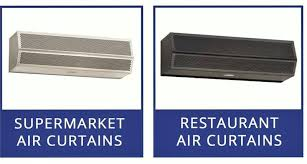 Overhead Door Curtains The Air Curtains Air Door For Supermarket Dock Doors Fly Fans All
