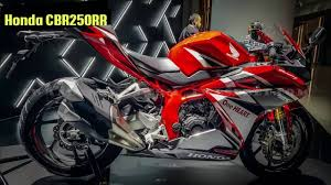honda cbr rate all new 2016 honda cbr 250 rr youtube
