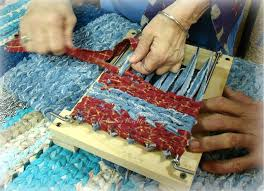 How To Make A Rag Rug Weaving Loom The Country Farm Home A Dream Come True And Another Rag Rug Loom