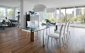 Enticing Dining Area Table Elegant Glass Dining Table Beach Style Medium The Most