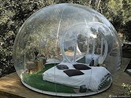 Camping In The Backyard Amazon Com Outdoor Single Tunnel Inflatable Bubble Tent Family