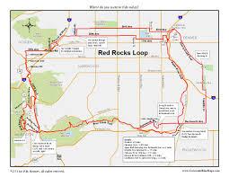 Map Of Denver Metro Area by Red Rocks Loop Coloradobikemaps