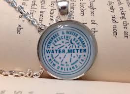 new orleans water meter necklace new orleans water meter necklace in teal on etsy 15 00 nola