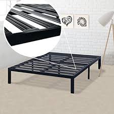 Steel Platform Bed Frame King Best Price Mattress Model E Heavy Duty Steel Slat