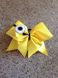 minion ribbon 2014 minion bow crafts for makeup despicable me