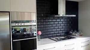 kitchen subway tile backsplash image home design gallery