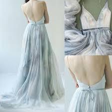 spaghetti straps v neck prom dress long prom dress 2017 evening