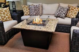 Rectangle Fire Pit Table Fire Pit Table Collection Firetainment