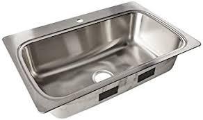 33 x 22 drop in kitchen sink kohler k 20060 1 na verse 33 inch x 22 inch drop in single bowl