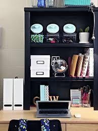 Dorm Desk Bookshelf A Dozen Tips For A Super Organized Dorm Room Apartment Therapy