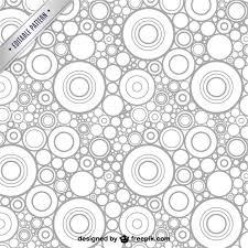 imagenes abstractas con circulos patrón abstracto con círculos descargar vectores gratis