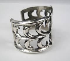 sterling silver bracelet designs images Navajo sandcast sterling silver bracelet corn design at 1stdibs jpeg