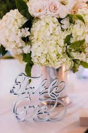 Laser Cut Table Numbers Wedding Ideas 11 Sleek Silver Details For Your Wedding Inside