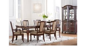 mansell manor cherry 5 pc rectangle dining room transitional