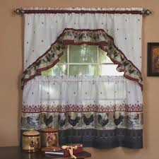 Curtains For Kitchen by Kitchen Room Beautiful Rooster Curtains For Kitchen Rooster