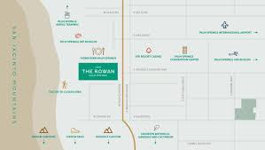 Orange County Convention Center Map Palm Springs Map Directions Kimpton Rowan Hotel