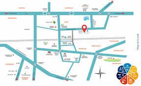 Hyderabad Map Location Marina Skies