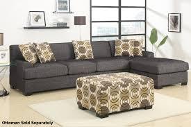 montreal iii grey fabric sectional sofa steal a sofa furniture
