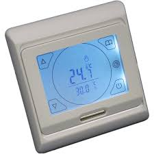 touch screen digital under floor heating thermostat suitable for
