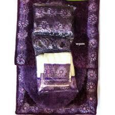Bathroom Shower Curtain And Rug Set 19pc Bathroom Rug Set Luxury Purple Flower Bath Shower Curtain