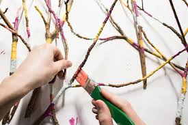creative ideas for branches as home decor diy network blog made