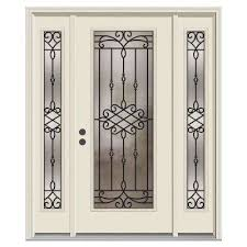 Exterior Steel Entry Doors With Glass Jeld Wen Front Doors Exterior Doors The Home Depot