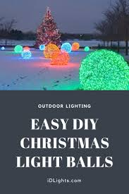 outdoor christmas light balls outdoor lighting how to make christmas nice light balls id lights