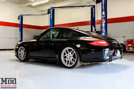 red porsche black wheels porsche 997 carrera s stuns on red forgestar cf10 wheels