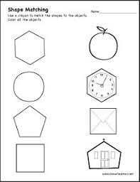 pentagon shape activity sheets for children