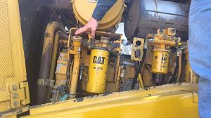 basic component location on a cat bulldozer youtube