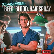 Roadhouse Meme - netflix us on twitter patrick swayze at his swayze est
